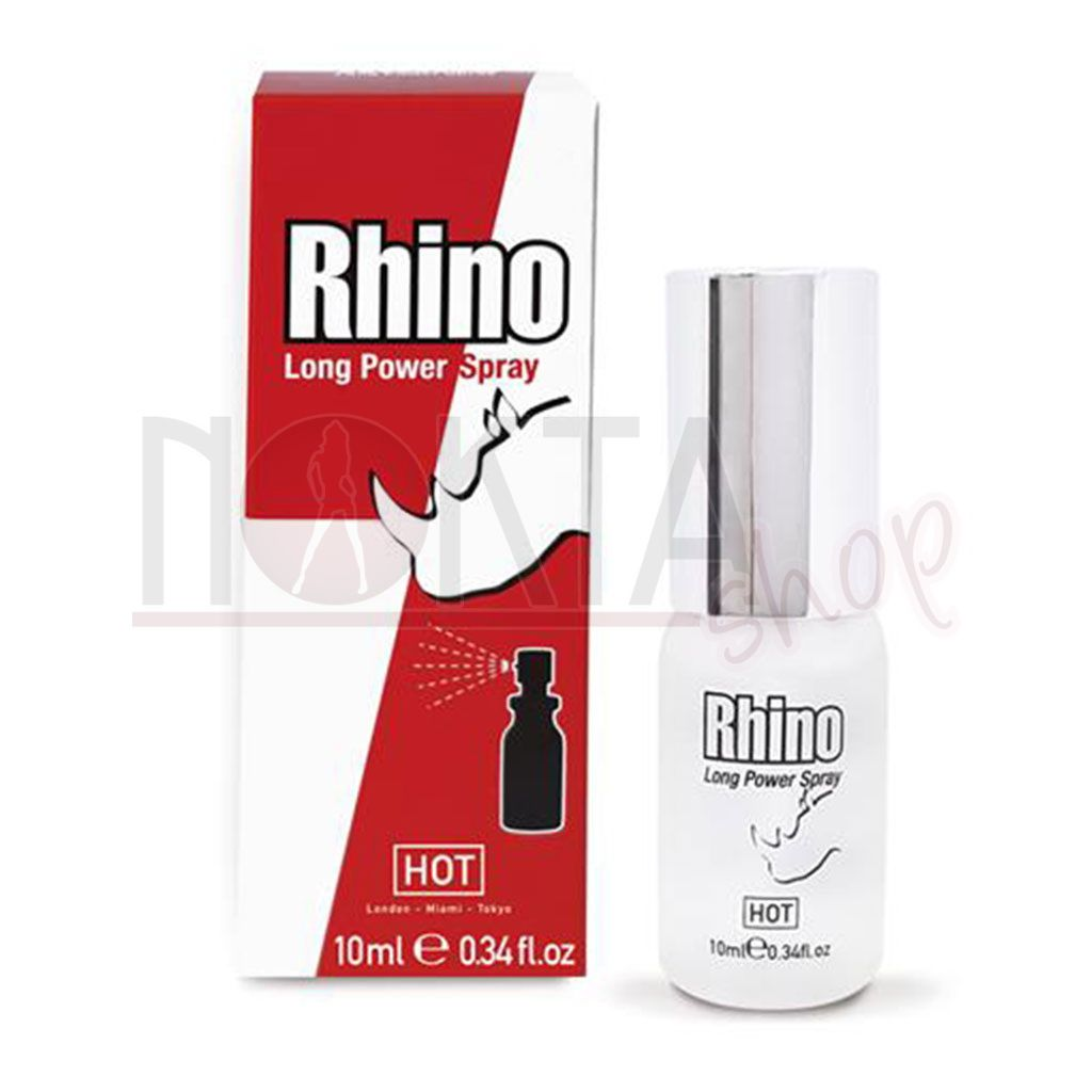 Hot rhino long power spray 10ml penis spreyi