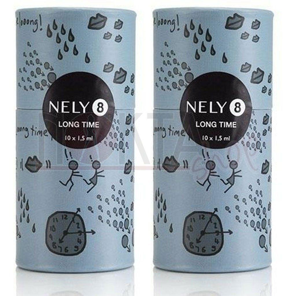 Nely8 long time delay krem 20li paket 20x1.5ml 2 kutu