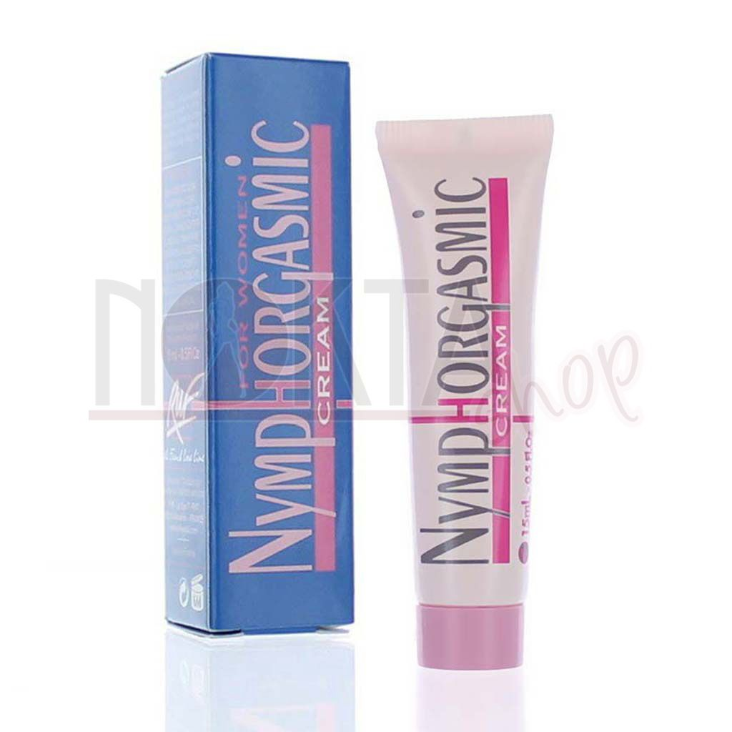 Nymphorgasmic cream 15ml bayan krem